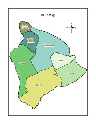 CDP Map