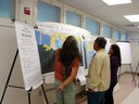 Participants Check out the Public Access Maps at the Data-Gathering Workshop, November 6, 2010 in Honoka'a.