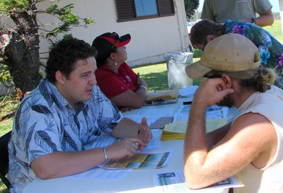 Talking up the CDP Process at the Hāmākua Alive! Festival 2009