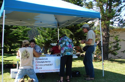Hāmākua Alive Festival Features a CDP Booth (2009)
