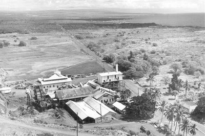 Aerial View of Honu'apo Mill