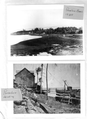 Punalu'u Beach and Landing 1925