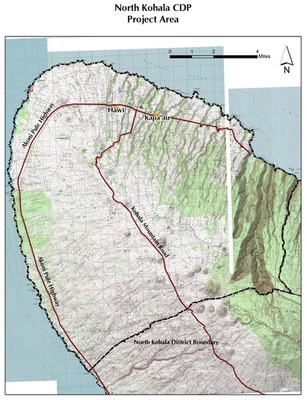 North Kohala Project area